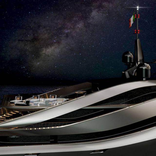 Pininfarina's Aurea 70 meters superyacht (2)