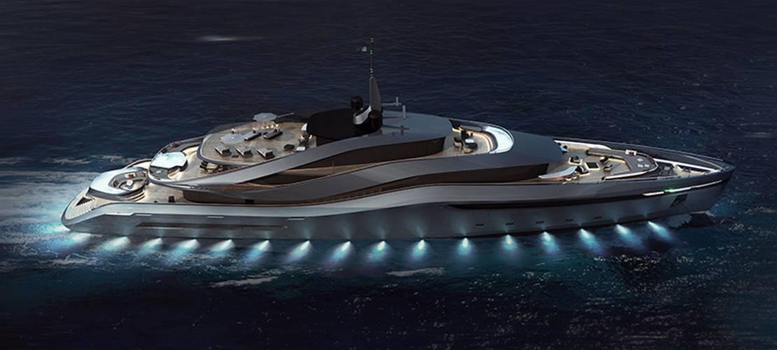 Pininfarina's Aurea 70 meters superyacht (1)