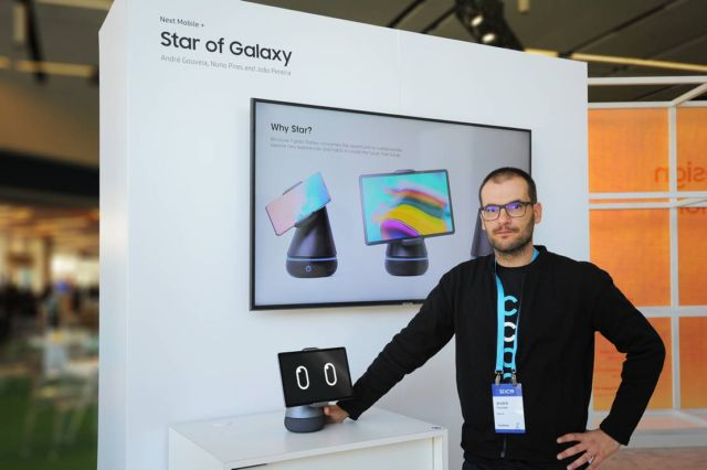 Star of Galaxy robotic stand (1)