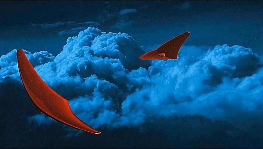 Stingray Glider to explore the Clouds of Venus