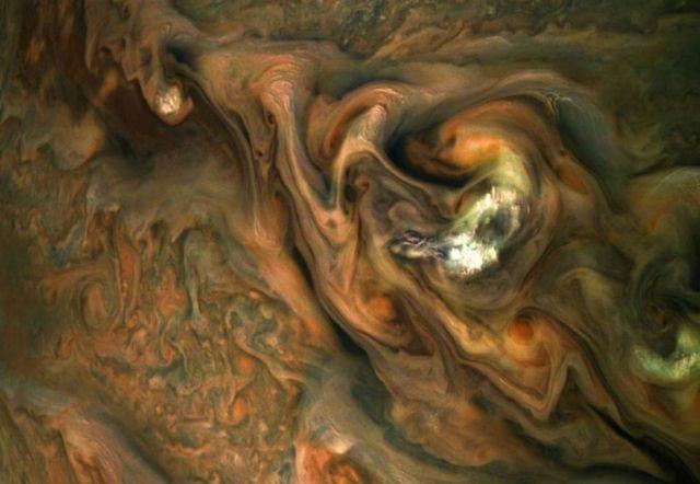 Stunning Jet Stream region on Jupiter