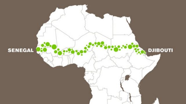 The 'Great Green Wall' (3)