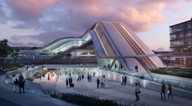 Zaha Hadid's High-Speed Train Station in Tallinn (4)