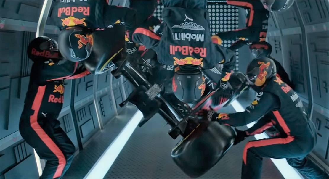Zero-G F1 Pit Stop