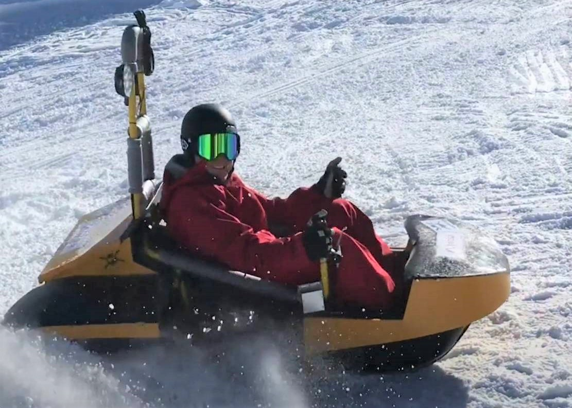 Bobsla new e-vehicle for Snow resorts