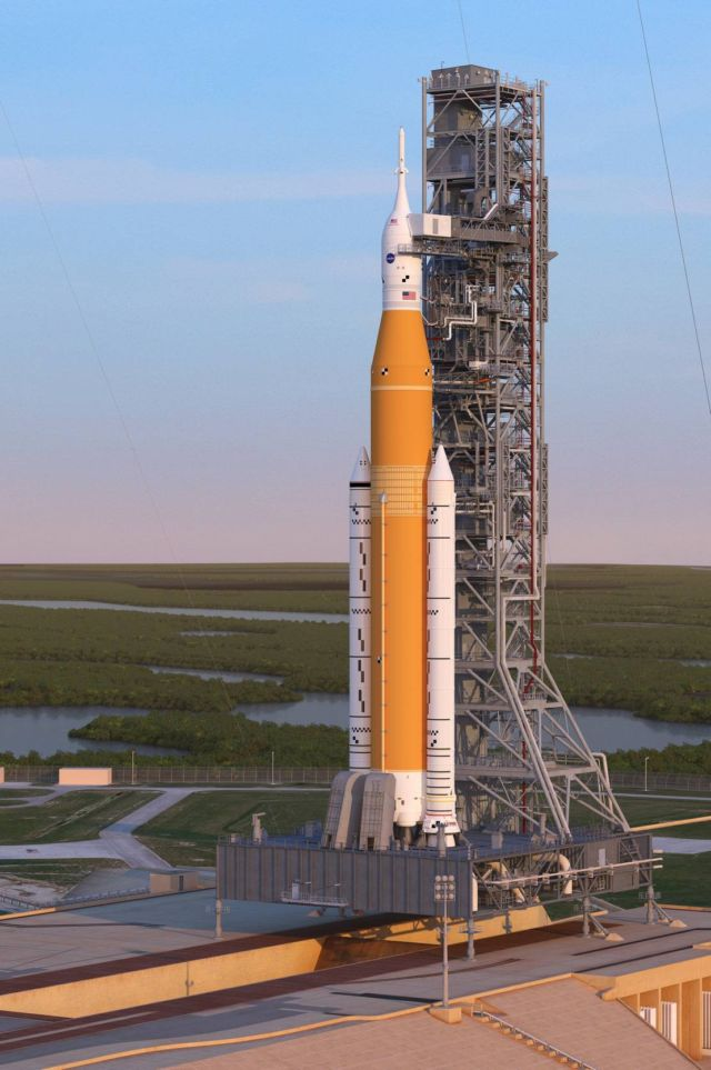 Space Launch System (SLS) rocket (1)