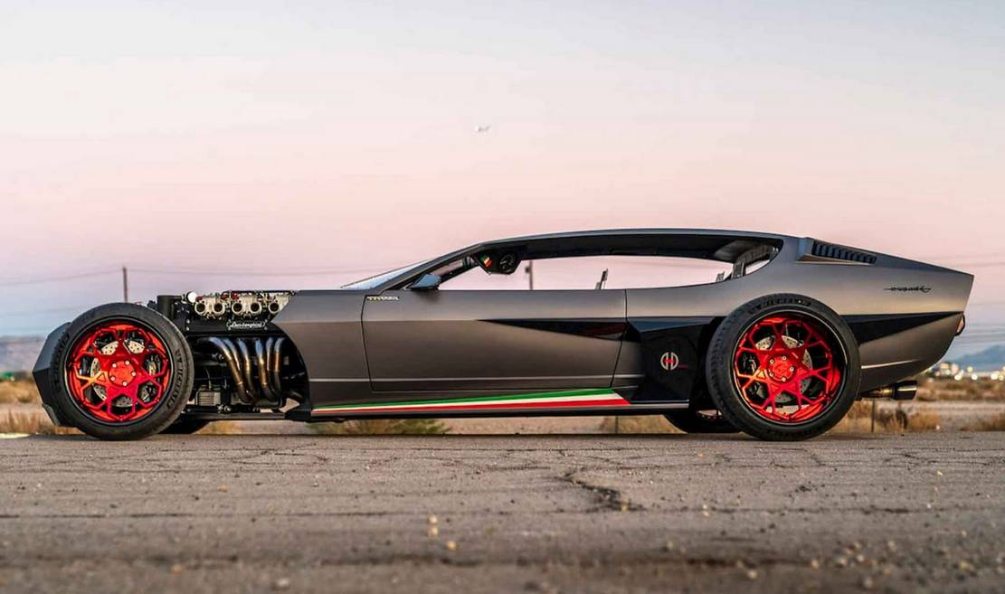 Lamborghini 1968 Espada Rat Rod (7)