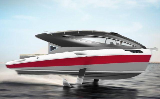 Lazzarini F33 Spaziale Yacht