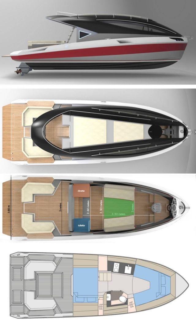 Lazzarini F33 Spaziale Yacht (2)