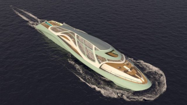 Luxury Yacht that turns into a Submarine