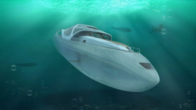 Luxury Yacht that turns into a Submarine (11)