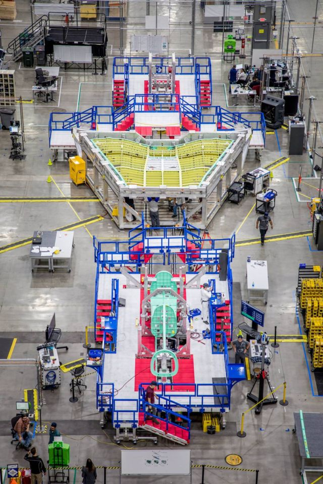 NASA's X-59 Quiet Supersonic Aircraft in Final Assembly