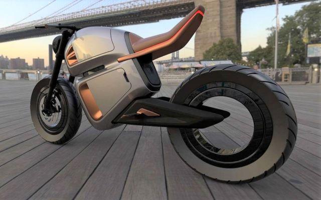 NAWA Hybrid e-motorbike