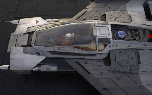 Porsche and Lucasfilm 'Star Wars' spaceship (2)