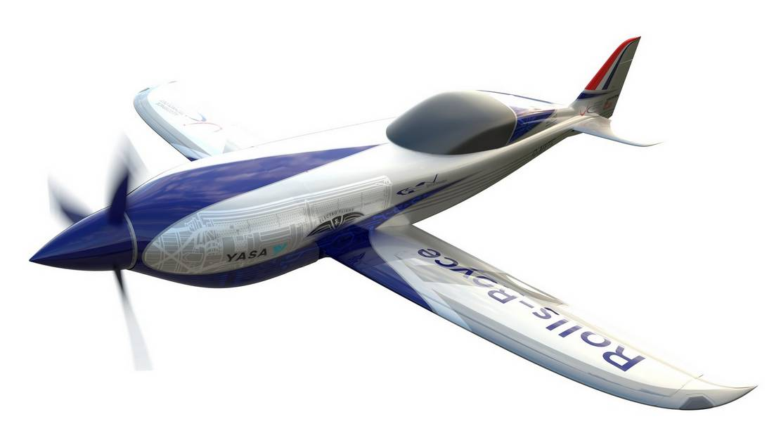 Rolls-Royce electric plane (1)