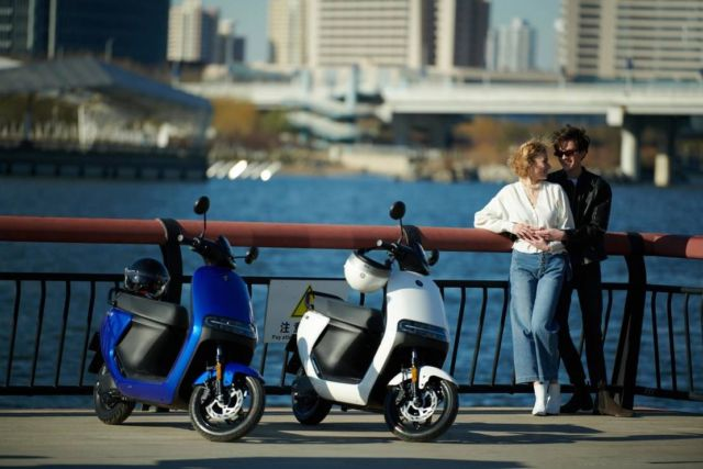 Segway-Ninebot electric scooters and motorcycle (4)