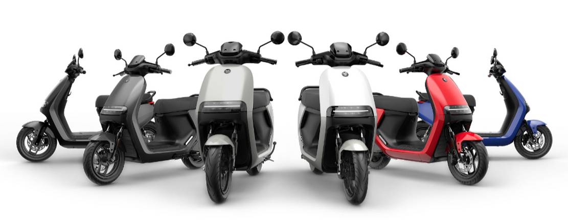 Segway-Ninebot electric scooters and motorcycle (1)