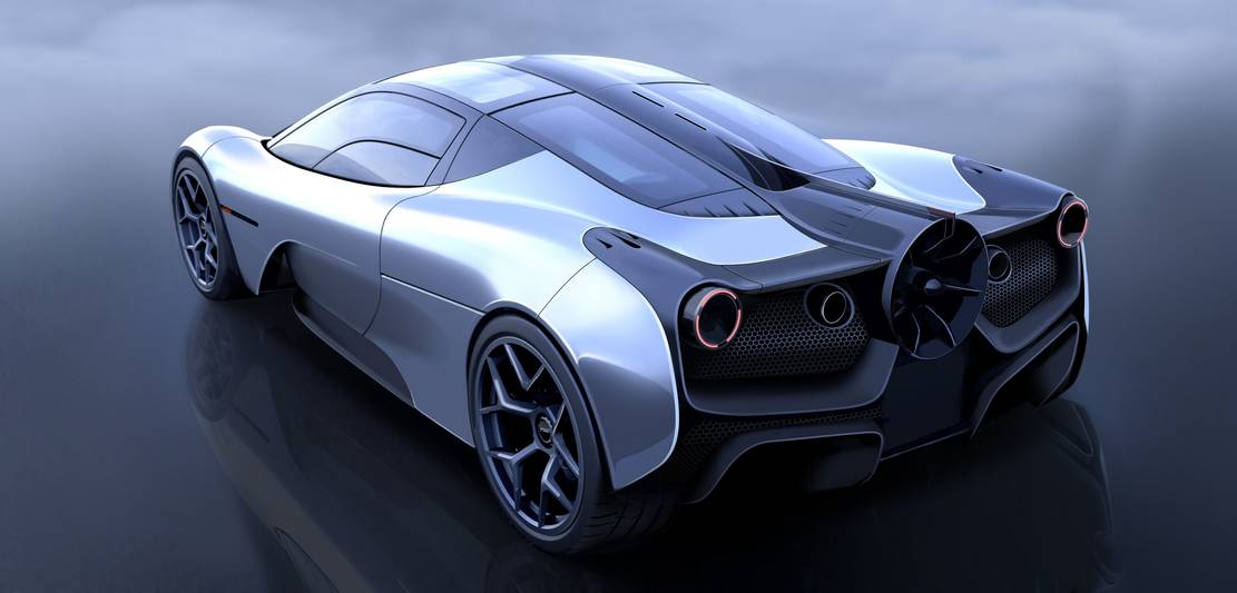 The insane aerodynamics of Gordon Murray T.50 supercar