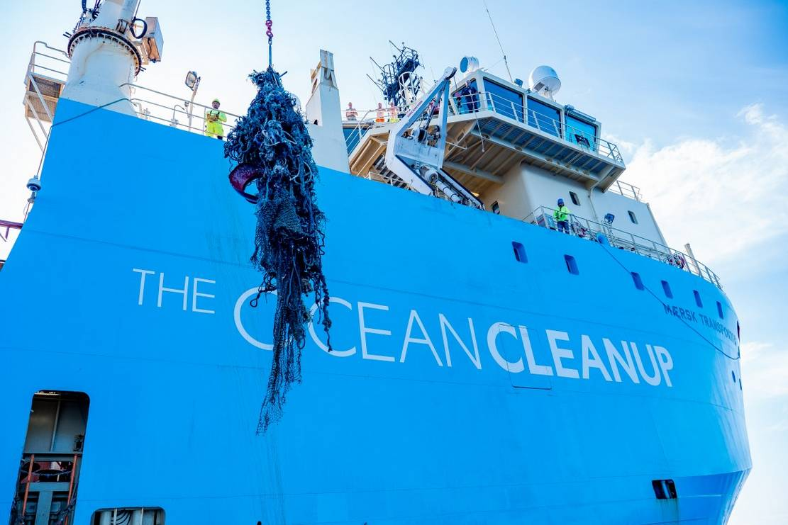 Ocean Cleanup first Plastic Catch