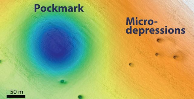Thousands of Mysterious Holes discovered in the Ocean Floor