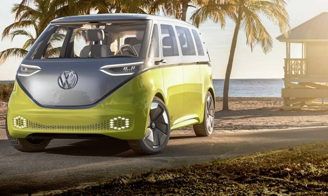 Volkswagen Self-driving electric shuttles (4)