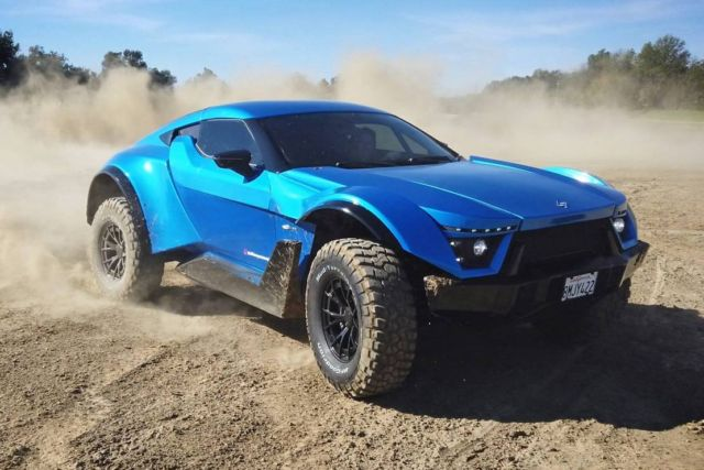 Laffite X-Road all-terrain supercar