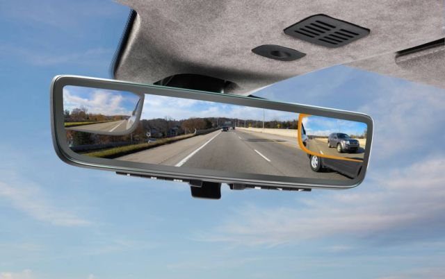Aston Martin's Rear View System
