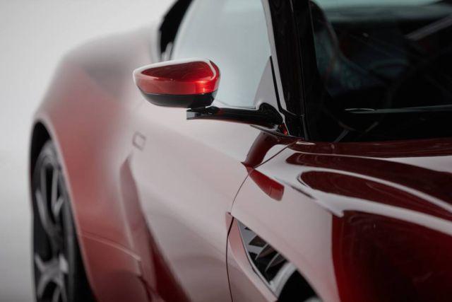 Aston Martin's Rear View System