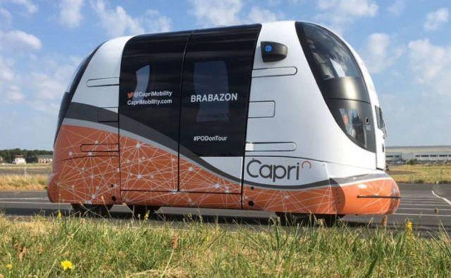 Autonomous Transport Pods begin UK public trials