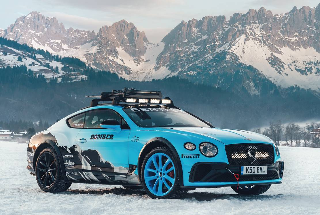 Bentley Continental GT Ice Race