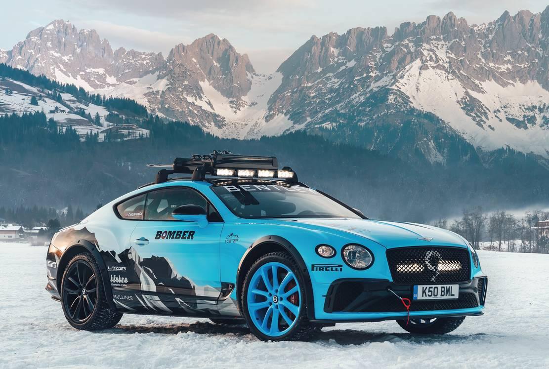 Bentley Continental GT Ice Race (7)