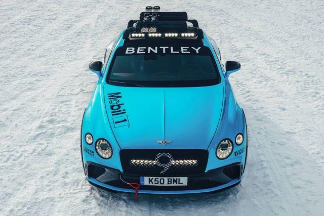 Bentley Continental GT Ice Race (5)