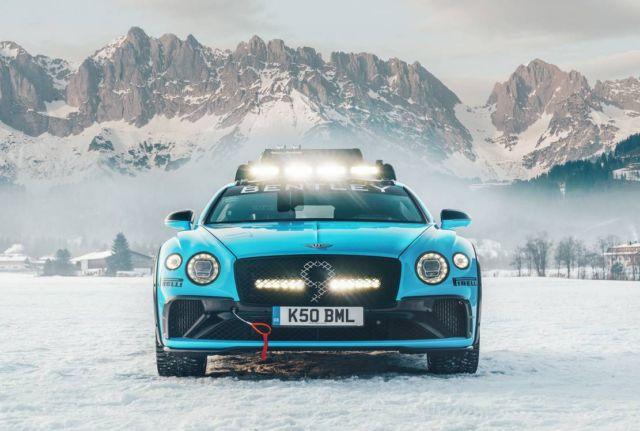 Bentley Continental GT Ice Race (4)