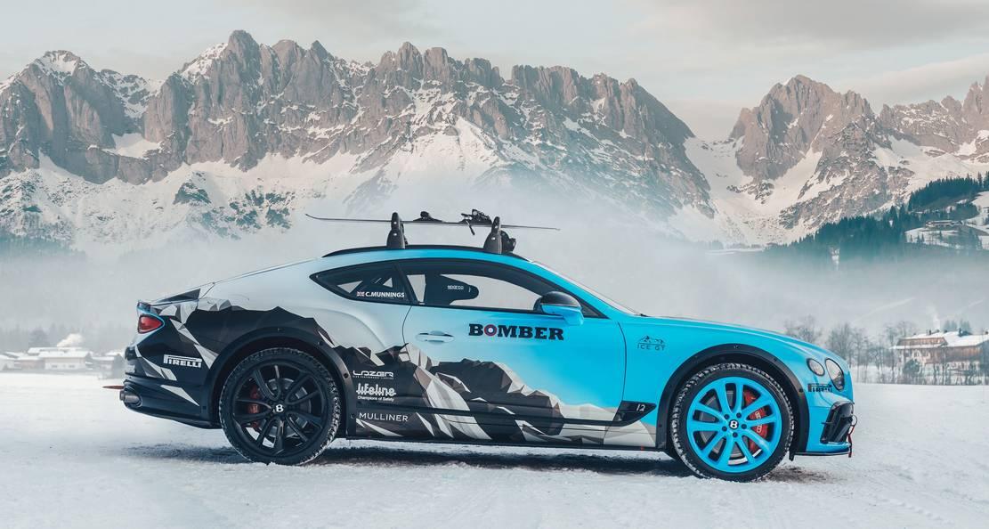 Bentley Continental GT Ice Race (1)