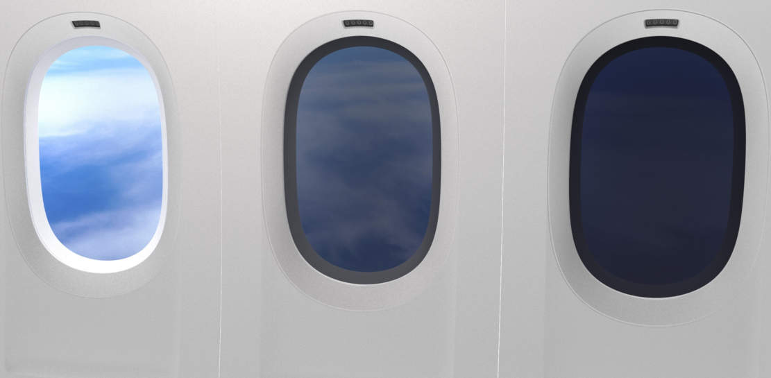 Boeing's new 777X to offer Dimmable Windows