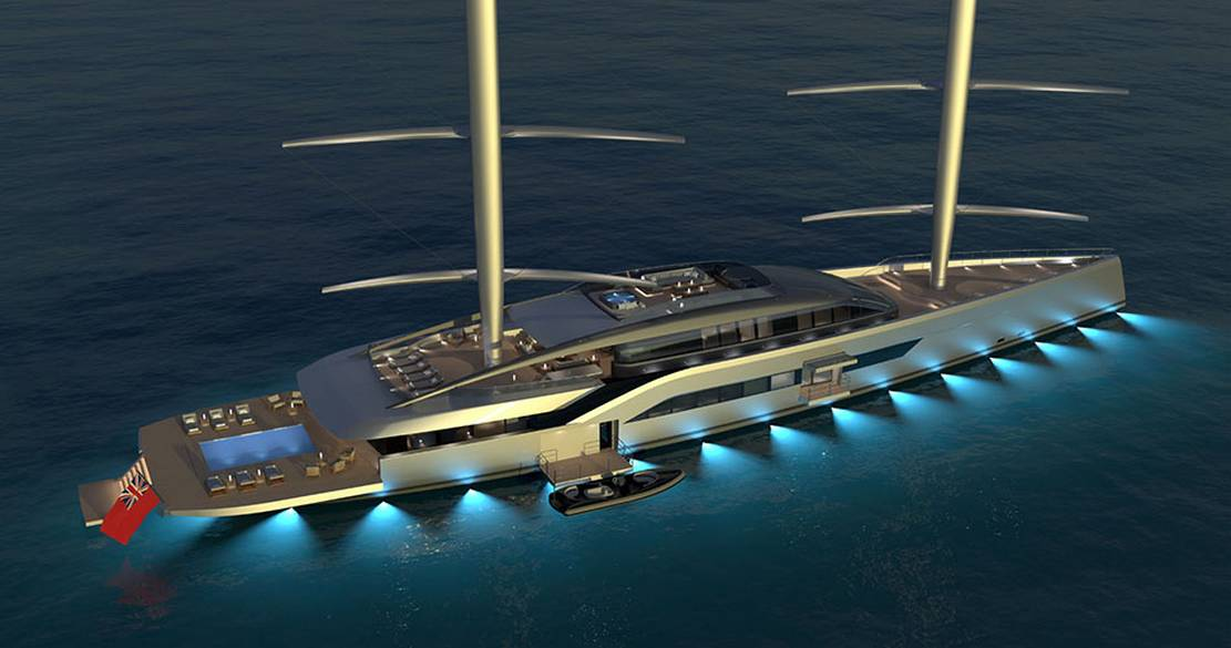 Dixon unveils Project NewDawn 70m superyacht