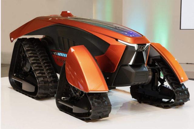 Kubota autonomous X Tractor concept