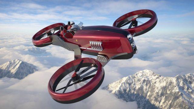 Lazzarini Formula Drone Concept ONE