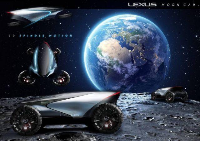 Lexus Moon Mobility Concept
