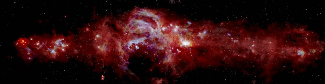 New stunning view of Milky Way's center