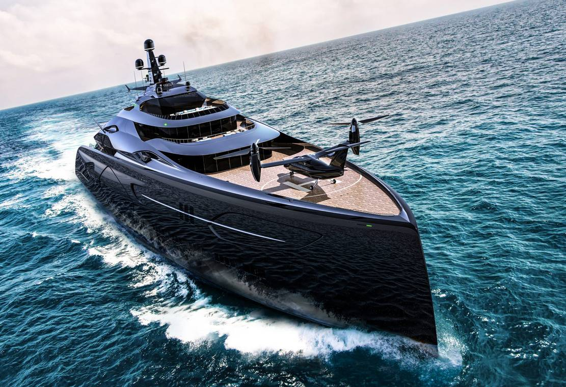 Officina Amare Project Cemtauro superyacht