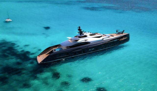 Officina Amare Project Cemtauro superyacht (2)