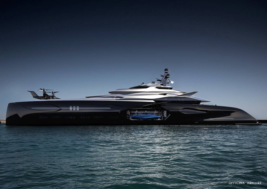 Officina Amare Project Cemtauro superyacht (1)