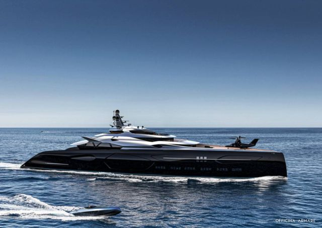 Officina Amare Project Cemtauro superyacht (9)