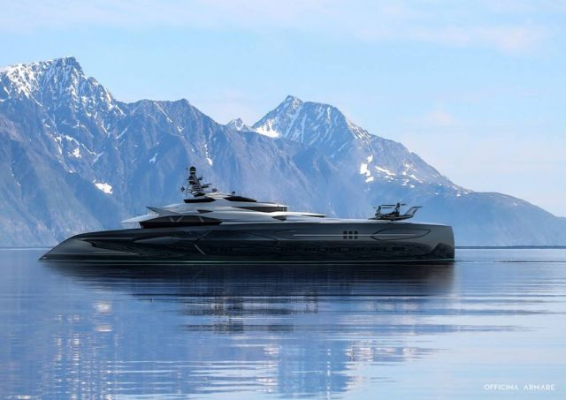 Officina Amare Project Cemtauro superyacht (5)