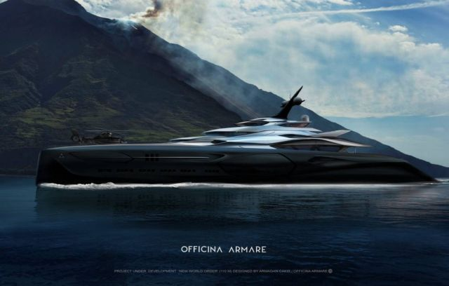Officina Amare Project Cemtauro superyacht (4)