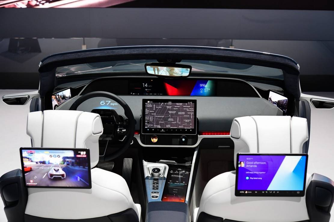 Samsung Digital Cockpit 2020