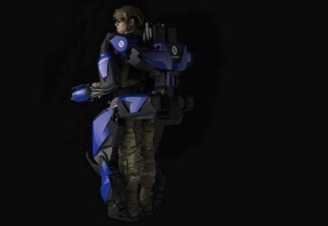 Sarcos robo-suit