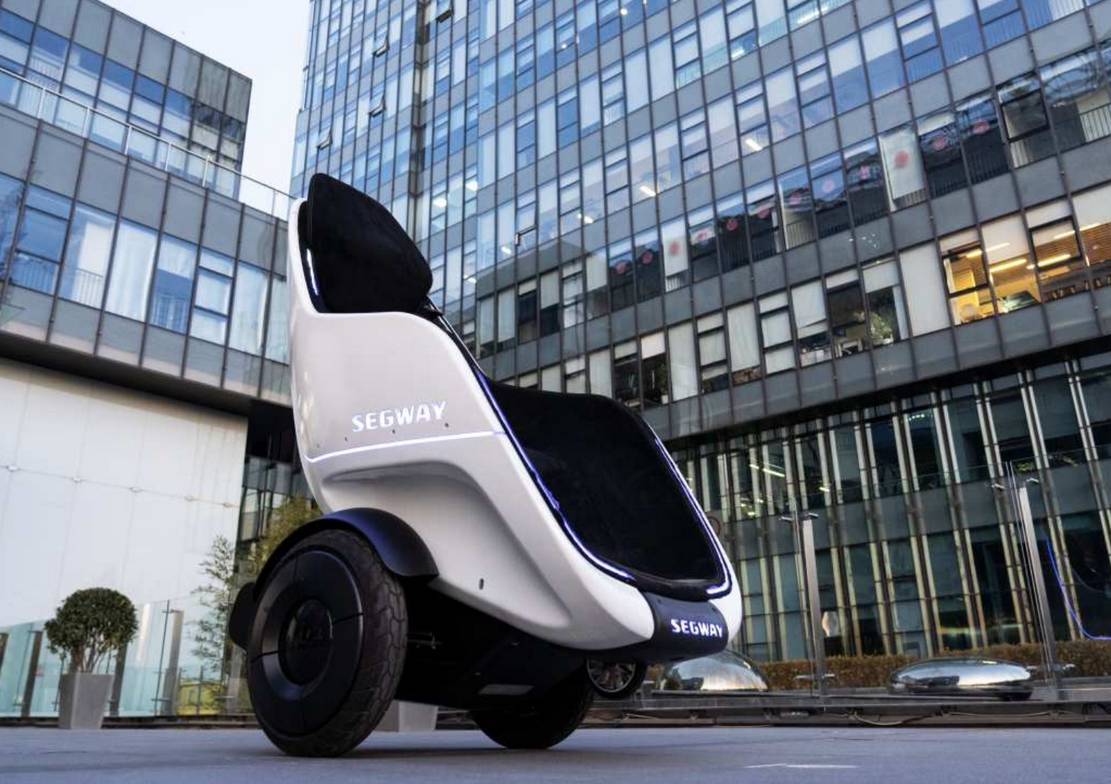 Segway's new Personal Transporter Pod