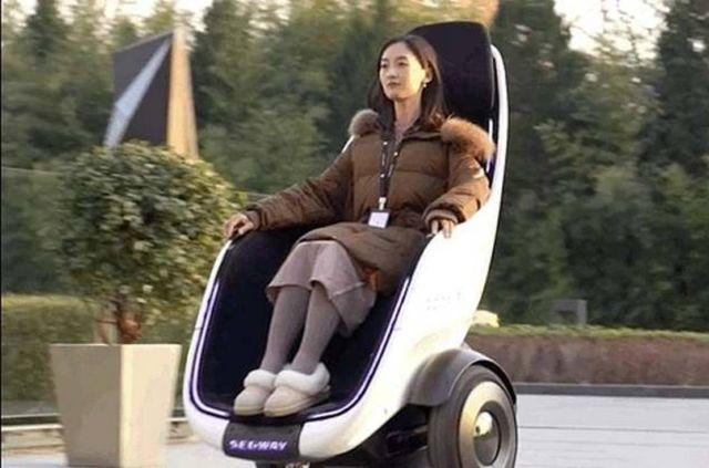 Segway's new Personal Transporter Pod